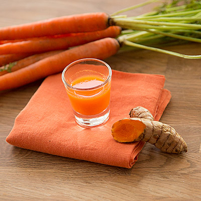 Carrot Top Cold Pressed Raw Juice