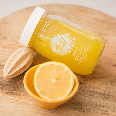Hot Stuff Cold Pressed Raw Juice with Lemon