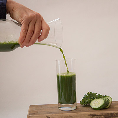 Green Giant cold pressed raw juice