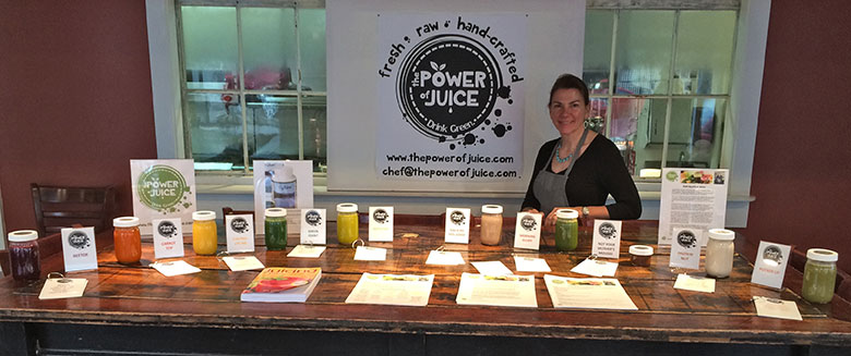 schedule a free raw juice tasting
