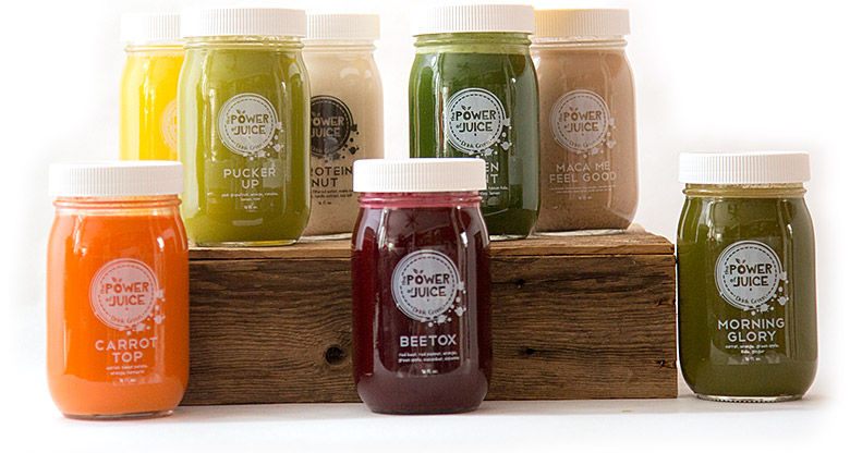 Cold Pressed Raw Juice from The Power of Juice