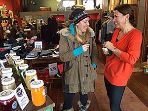 Laura Jean Denim, Newport, Raw Juice Tasting