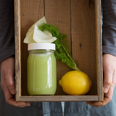 Fennelicious cold pressed raw juice