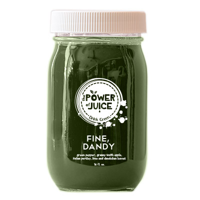 Fine Dandy cold pressed raw juice