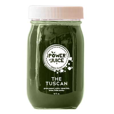 The Tuscan cold pressed raw juice