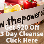 $20 off a 3 Day Reboot Juice Cleanse with Email Signup