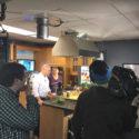 POJ on The Rhode Show (WPRI) making Walnut Kale Power Pesto
