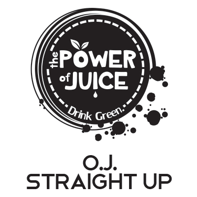 O.J. Straight Up cold pressed raw juice