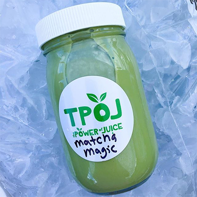 Matcha Magic Nut Milk
