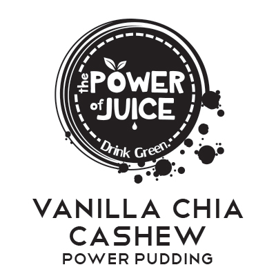 Vanilla Chia Cashew Power Pudding