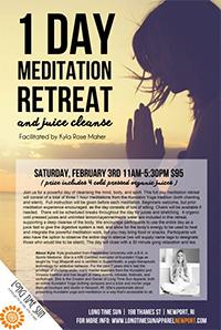 Meditation Retreat & Juice Cleanse