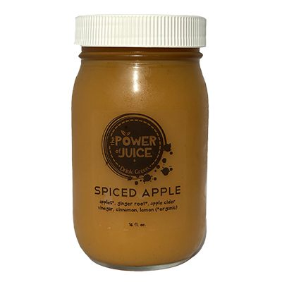 spiced apple cold pressed raw juice
